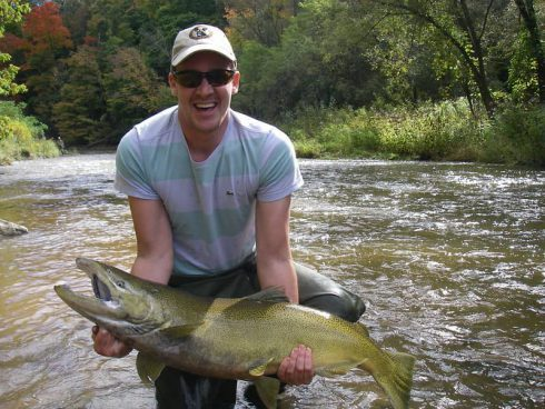 Ontario Salmon Fishing