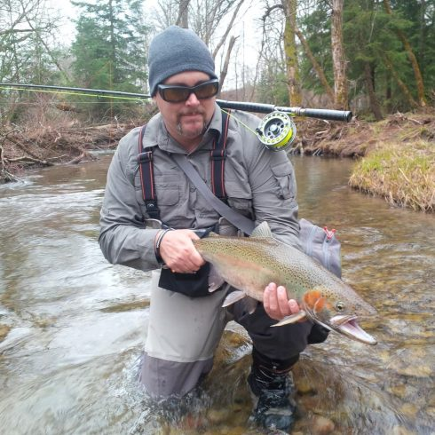 Steelhead from the Wilmot Creek