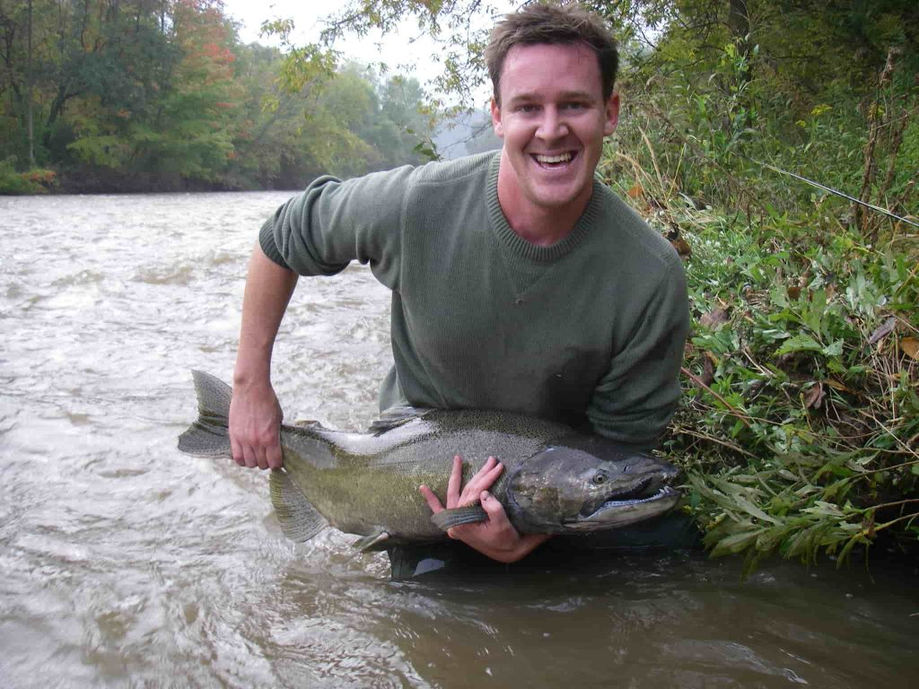 Best time to fish for salmon in Ontario