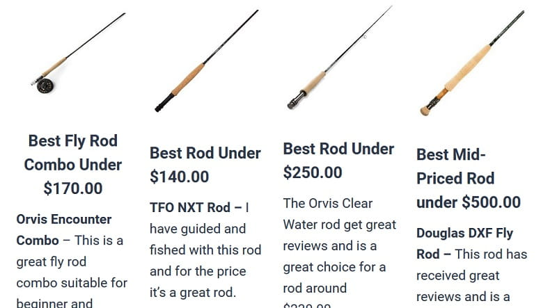 4 best fly rods for beginers