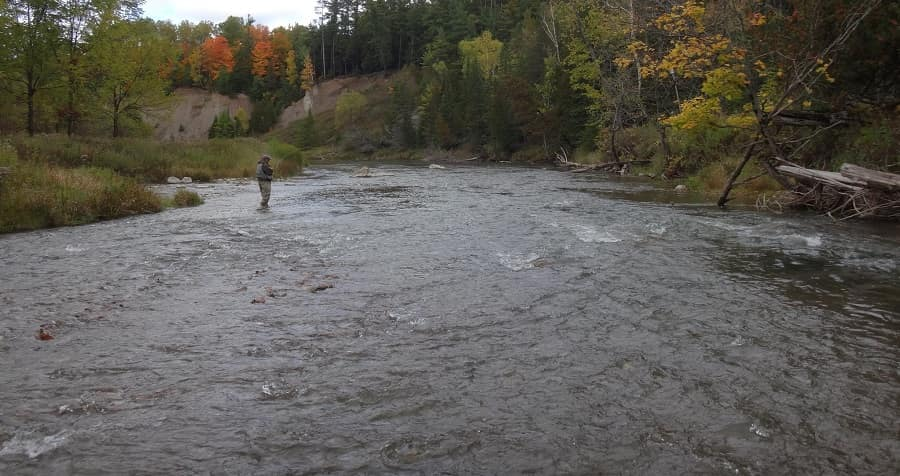 The Nottawasaga rivers is one of the best rivers in Ontario